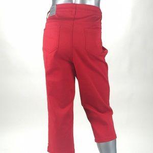 Catherine's - Orange Capri Jeans- Size 20W